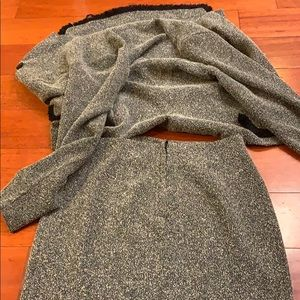 Skirt and jacket set